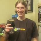 Wearing my Beer Citizen swag with Deschutes' Hop in the Dark.